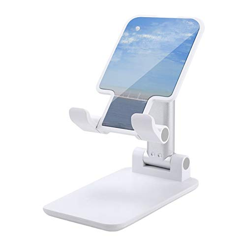 Pintura al óleo Soporte del teléfono celular Altura ajustable Soporte del teléfono celular para la pintura al óleo blanco del escritorio 2