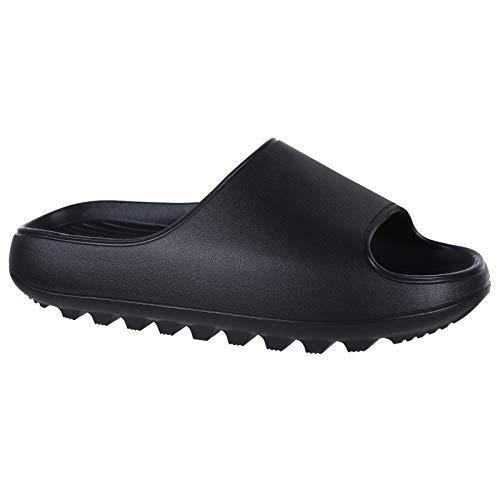 Platform Pillow Slide Sandals for M…