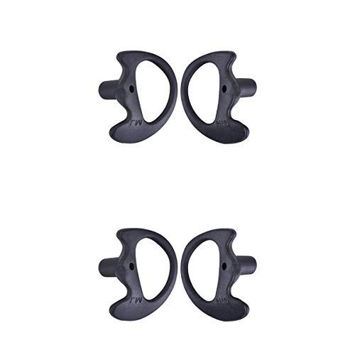 balikha 2 Pares de Almohadillas para Auriculares Bidireccionales, 24 Mm +