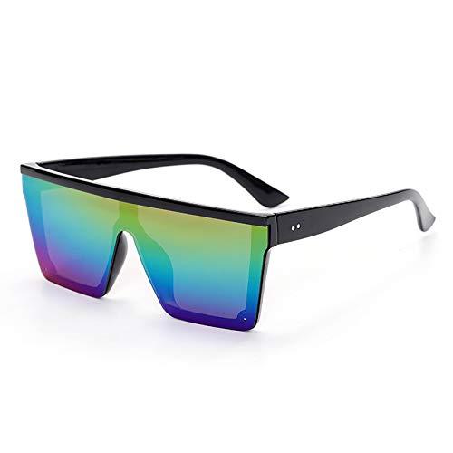 ShSnnwrl Único Gafas de Sol Sunglasses Gafas De Sol De Lujo para Mujer Gafas De Sol Transparentes De Gran Tamaño Nuevo Diseñador