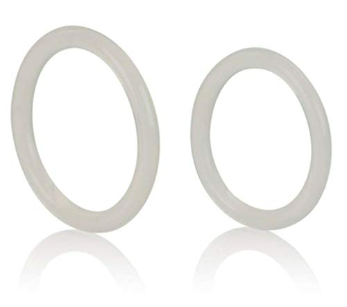 StechSy Large and X-Large Silicone Clear Enhancer Rings for Men and Couples PassionTouch 16701