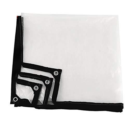 FF tarpaulin Tenda A Prova di Pioggia Impermeabile Serra Tenda A Prova di Pioggia Tenda Antipioggia in Plastica per Esterno 100g / M2, 0.12mm (Dimensioni : 1 * 2.5m)