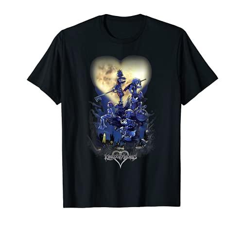 Disney Kingdom Hearts Poster Logo Camiseta