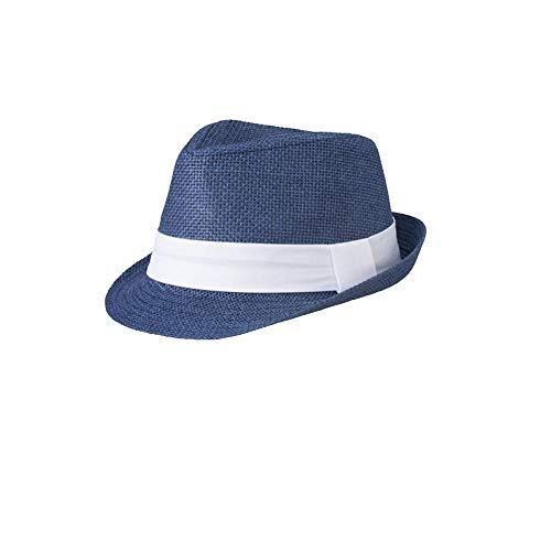 Myrtle Beach Street Style–Hut, Unisex – Erwachsene, MB6564, marineblau, weiß, L / XL
