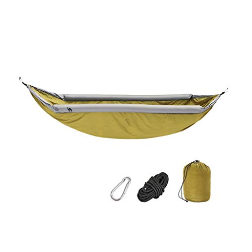 ShiLiLiShop Amache Amaca Amaca New Anti-Rollover Gommino Gommino Amaca All'aperto Amaca All'aperto Camping Camping Travel Amercata per Adulti (Color : Green, Size : 270 * 140cm)