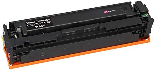 INK INSPIRATION Negro Tóner Compatible para HP Color Laserjet Pro MFP M277dw M277n M274n M252dw M252n   Reemplazo para HP 201X CF400X 201A CF400A 2800 páginas
