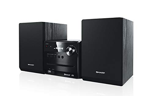 SHARP XL-B510 Micro Sound System, 40W, Bluetooth en USB Playback, CD-MP3 zwart