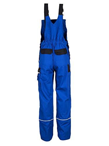 TMG® Herren Latzhose für Mechaniker/Klempner – Royalblau (W44 S / EU30) - 2