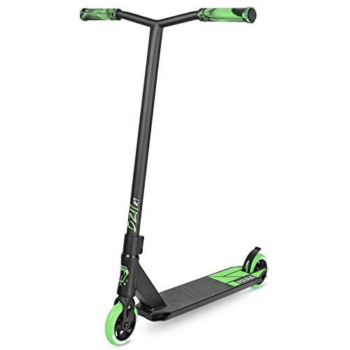 VOKUL Pro Stuntscooter BZIT K1- Roller für 7 Jahre und älter - Kinder & Teens & Erwachsene, Stunt Scooter mit 110mm PU Räder Tretroller Freestyle Roller Tricks Geschenk (Grün)