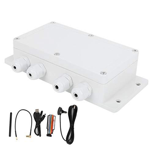 Controlador SMS, controlador remoto duradero opcional de 6 relés de salida, precalentadores de motor precisos para bombas de pozo de iluminación Calentadores de motores de aviones Sistemas