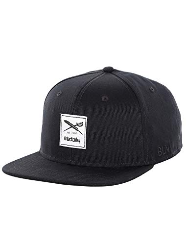 IRIEDAILY Daily Flag 20 Snapback Cap Herren Styled in Berlin, Uni Black, One Size