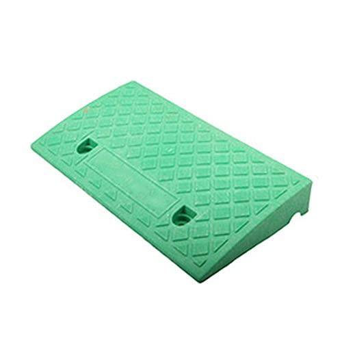 ZYZY Rampa de umbral de coche de plástico portátil con superficie texturizada para escalones de altura de 6-8 cm