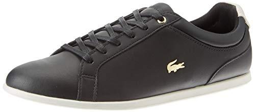 Lacoste Womens Rey LACE 120 1 CFA Sneaker, Schwarz (Blk/Off Wht), 38 EU