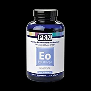Physician Recommended Nutriceuticals PRN Eye Omega Advantage 120 Soft Gels by PRN
