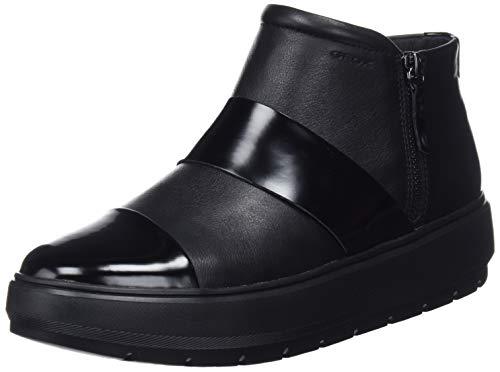 Geox D Kaula E, Botines para Mujer, (Black C9999), 38 EU