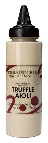 Terrapin Ridge Farms Truffle Aioli – One 7.5 Ounce Squeeze Bottle