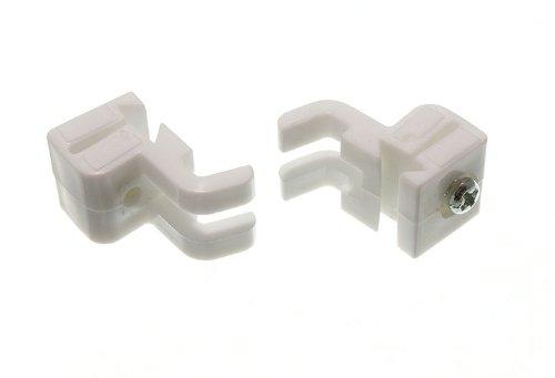 rideau rail planeur butée pour s'adapter à swish sologlide sologlyde (pk 2)