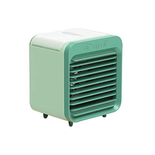 Small Air Conditioner Portable Conditioning Unit Multifunctional Air Cooler Cooling Fan Portable USB Mini Air Conditioner Fan Humidifier Desktop Fan Mute
