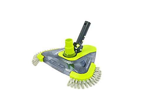 Sepetrel Pool Vacuum Head with Side Brush &...