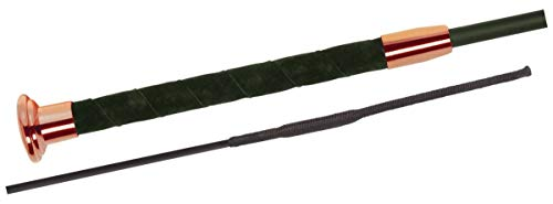 Fleck - SilkTouch, Premium Dressurgerte 120 cm, Metallbeschläge in RoséGold