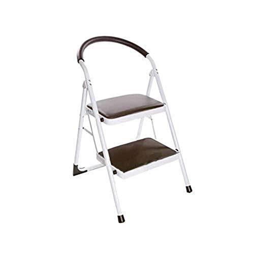 CKQ-KQ Ladders Multifunctionele Household Vouw Herringbone Ladder Thicken Step Ladder Indoor Zolder Kruk Hoge Climb ladder (Color : T1)