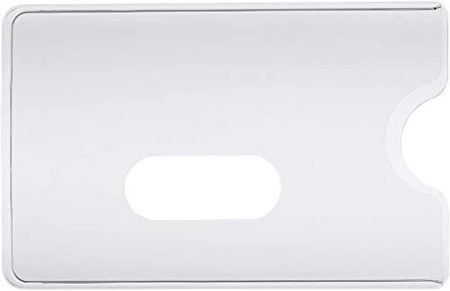 5x EC-Kartenhülle Kreditkartenhülle Bankkartenhülle, glasklar, transparent