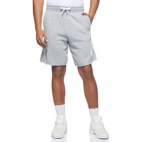 Nike M Nsw He Short Ft Alumni M Nsw He Short Ft Alumni, Uomo, dk grey heather/dk grey heather/white, M