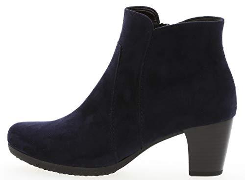 Gabor Casual laarzen in grote maten blauw 94.680.46 grote damesschoenen