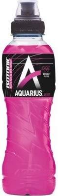 24 x Aquarius Sport Isotonic Cherry PET-Flaschen (24 x 0,5 L) EINWEG inkl. gratis FiveStar Kugelschreiber