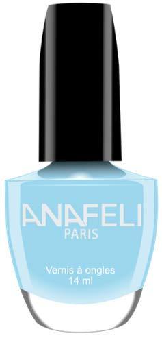 Ana Paris Nagellack, französische Maniküre, klassisch, 14 ml, Nr. 84, Hellblau