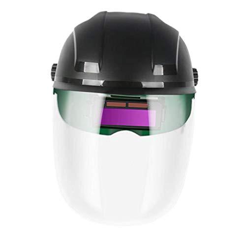 #N/a Máscara de Soldadura con Oscurecimiento Automático Gafas de Soldar Casco Pantalla Facial Ajustable Casco