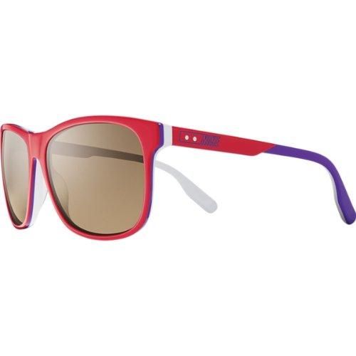 NIKE Gafas de Sol EV0745-652 (58 mm) Rojo/Gris