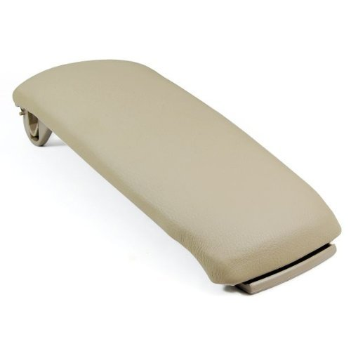 New Beige Leather Center Console Amrest Covers Lip For 00-06 Audi A6 2003 2005 2006 2000 2001 2002 2004