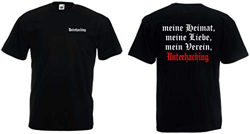 world-of-shirt Herren T-Shirt Unterhaching Ultras meine Heimat