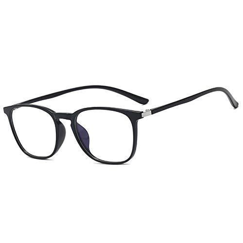 DEEPSEA Blue Light Blocking Computer Glasses for UV Protection Anti Eyestrain Anti Glare Gaming Glasses for Man/Female, Reading Eyeglasses(Update 2020) (Classic Black)