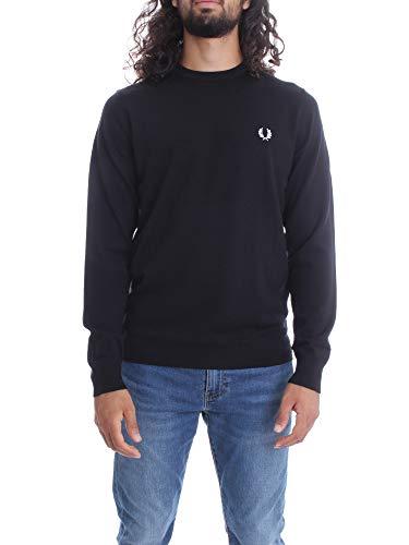 Fred Perry Classic Crew Neck Jumper Sweater Herren