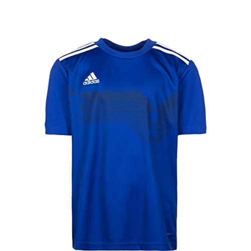 Adidas Campeon19 JSY T-Shirt, Champion 19, Blau (Blau / Weiß), 7-8Y
