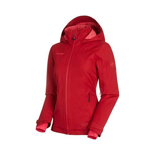 Mammut Damen Scalottas Hooded Hardshell-Jacke mit Kapuze, Scooter, XL