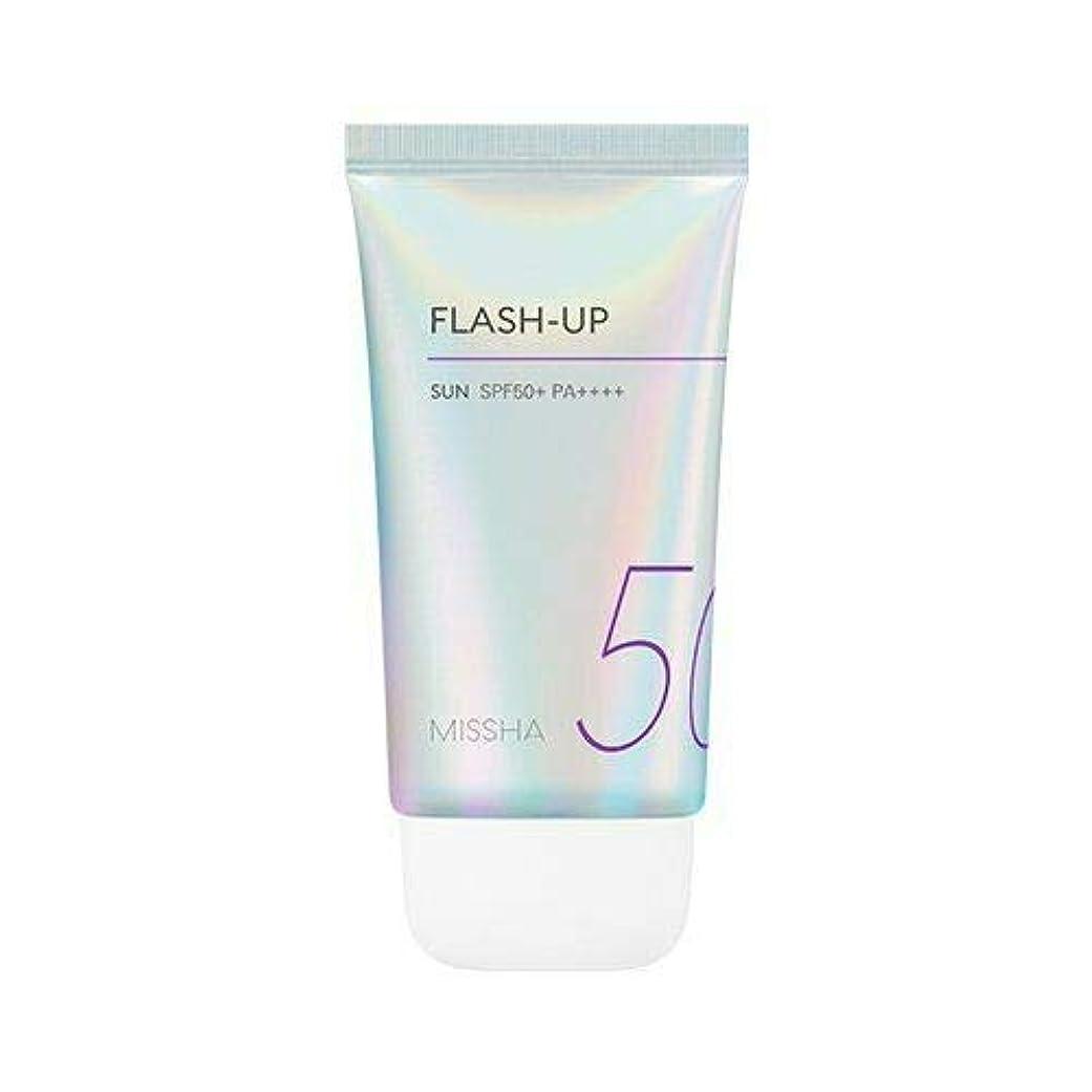 資産死傷者検査官MISSHA ミシャ Flash-Up Sun 50ml SPF50+/PA++++ 韓国日焼け止め