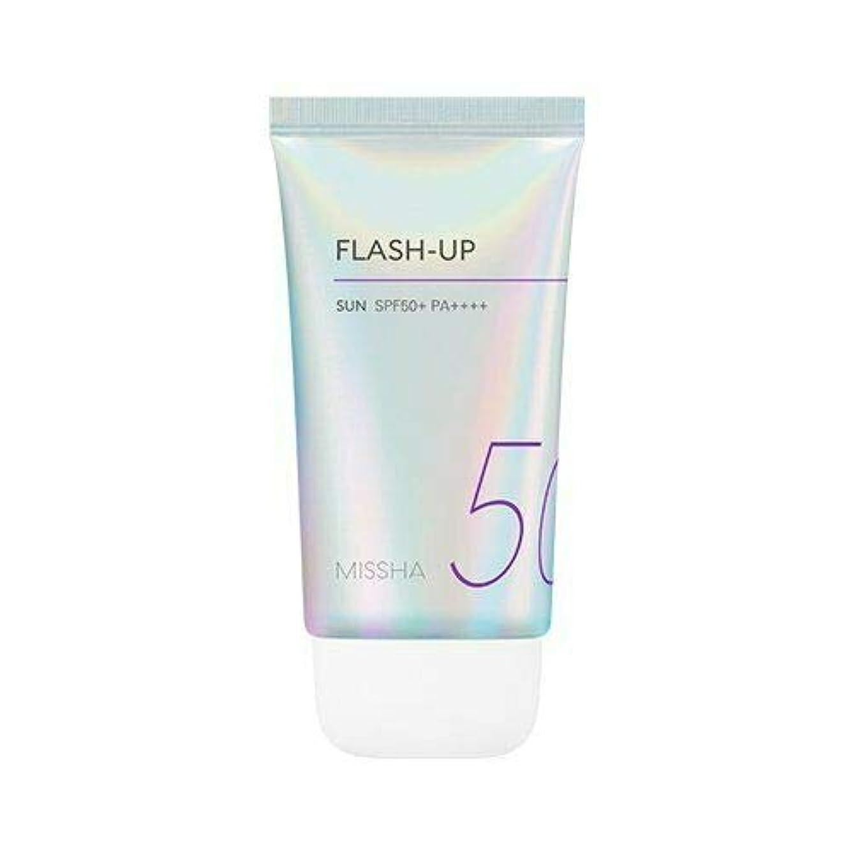 パイプラインバイオリニスト切り離すMISSHA ミシャ Flash-Up Sun 50ml SPF50+/PA++++ 韓国日焼け止め