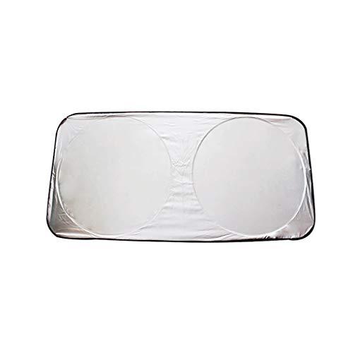 Opvouwbare Screen Luifel - voorruit zonnescherm Blokken UV Visor zonneklep Shield, Reflector Zonnescherm, eenvoudig te gebruiken (59 X 27.55 Inches)
