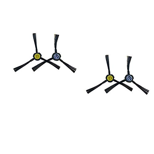 Zealing 2 par Robot Aspirador cepillos Laterales Cepillo para ILIFE V8S V80, x800, x750 aspiradora robótica...