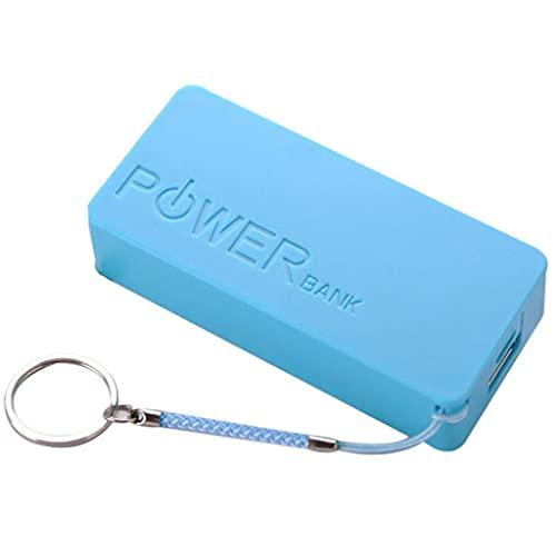 Folewr USB Mobile Power Bank Cargador Batería Caja DIY para 2x18650 batería de litio Protable caja colorida