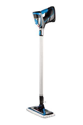 Bissell PowerFresh Slim Steam Mop, Pulitore a Vapore 3-in-1, si Converte da Lavapavimenti a Vaporetto Portatile, 1500W, 350 Millilitri, 2234N