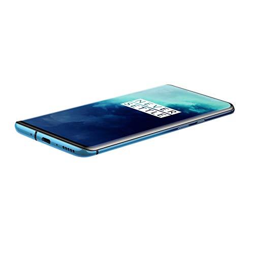 OnePlus 7T Pro (Haze Blue, 8GB RAM, Fluid AMOLED Display, 256GB Storage, 4085mAH Battery)