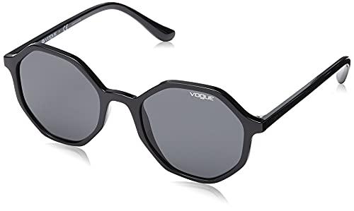 Vogue Eyewear 0VO5222S Occhiali da Sole, Nero (Black), 52 Donna
