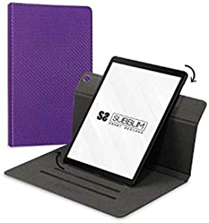 Rotate 360 Exclusive Case Samsung Tab A T510/515 10.1 Inch Purple