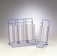 Bel-Art Products F18979-0001 Scienceware Poxygrid Petri Dish Dispenser Rack, 3 Stacks, 145 mm Length x 320 mm Width x 280 mm Height
