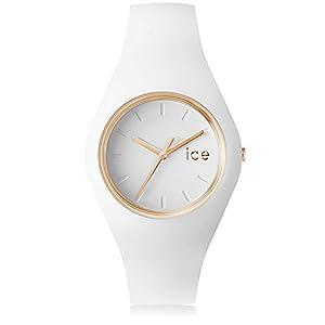 [アイスウォッチ]ICE WATCH 腕時計 ウォッチ アイスグラム 34mm ホワイト 10気圧防水 レディース [並行輸入品]
