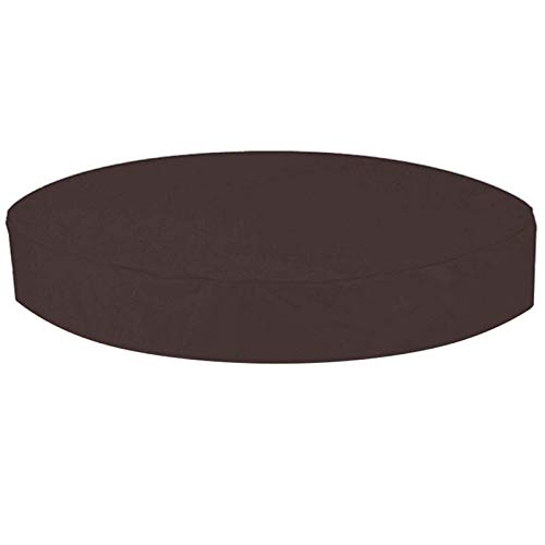 YOUNGE Cubierta redonda redonda para jacuzzi al aire libre impermeable SPA cubierta de polvo